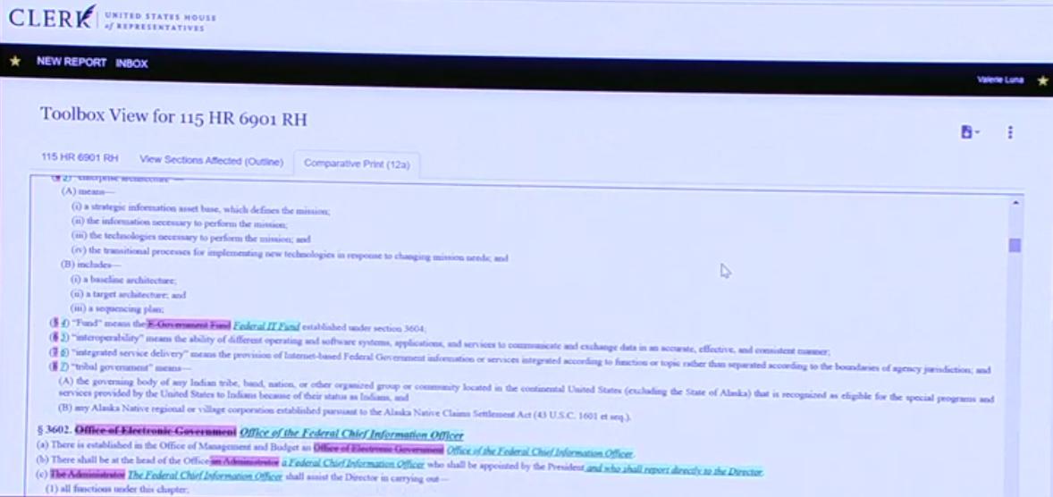 Bill Compare Screen Grab